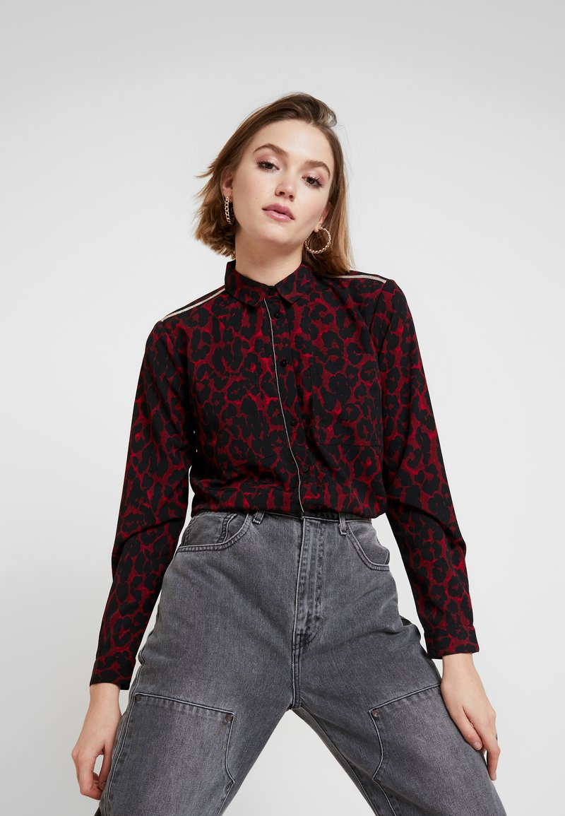 Kaporal - PITT - Button-down blouse - tango