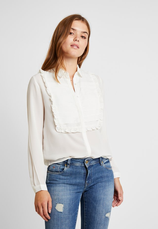 WILEM - Button-down blouse - white