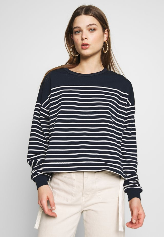 BOAT - Long sleeved top - navy