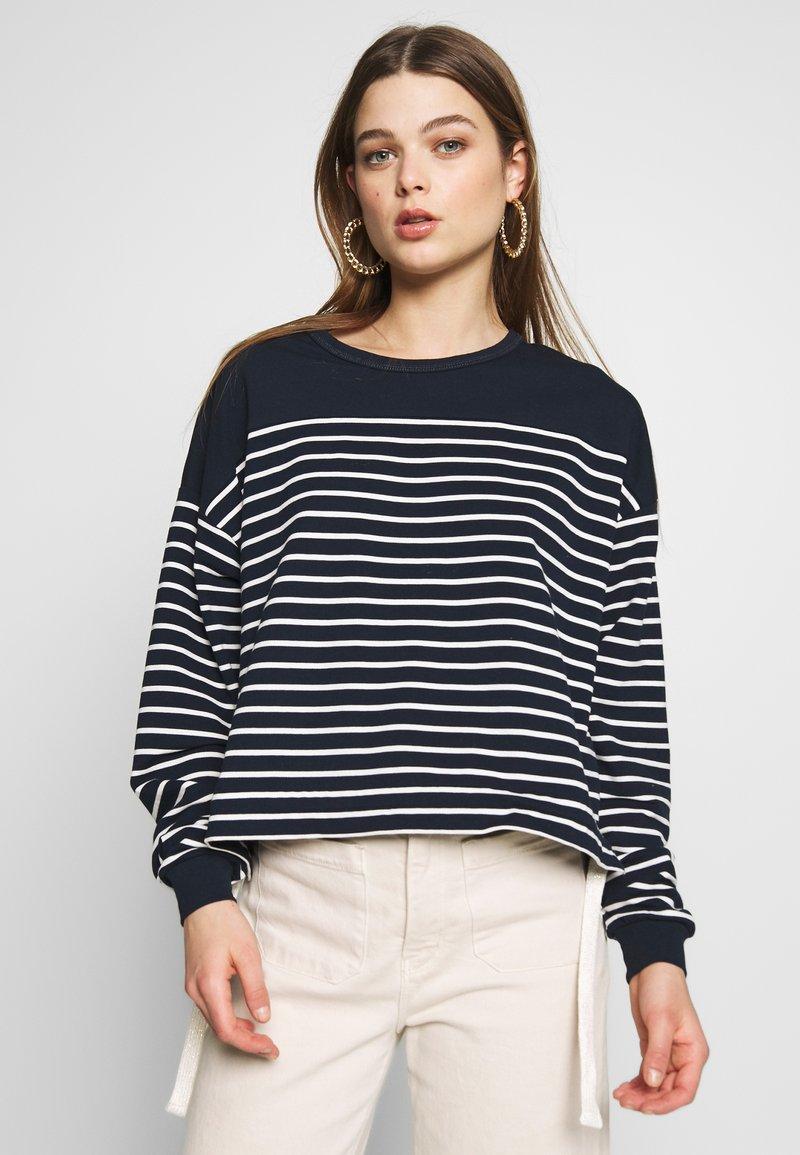 Kaporal - BOAT - T-shirt à manches longues - navy