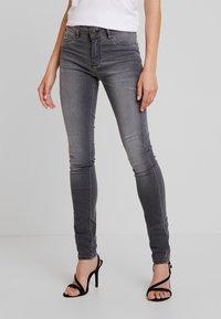 Kaporal - POWER - Jeans Skinny - metal - 0