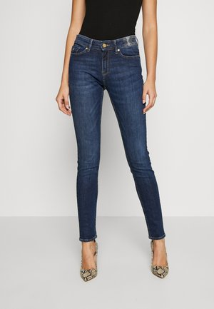 CAMIE - Jean slim - dark blue denim