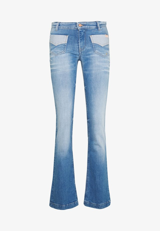 FAVOR - Jeans bootcut - blue denim