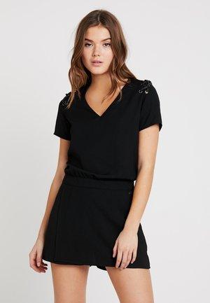 FLAT - Overall / Jumpsuit /Buksedragter - black