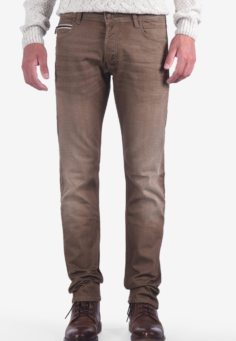 Kaporal - EDAM KAMAL - Straight leg jeans - brown