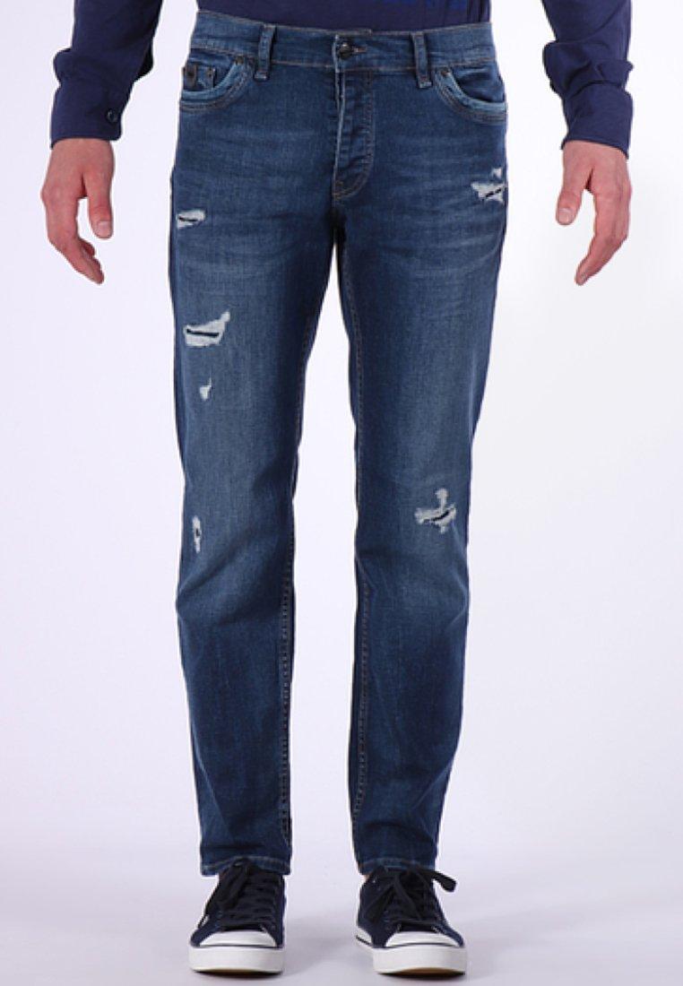Kaporal - DOLAR MIT COOLEN USED-ELEMENTEN - Straight leg jeans - blue