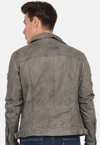 Kaporal - Veste en cuir - grey - 2