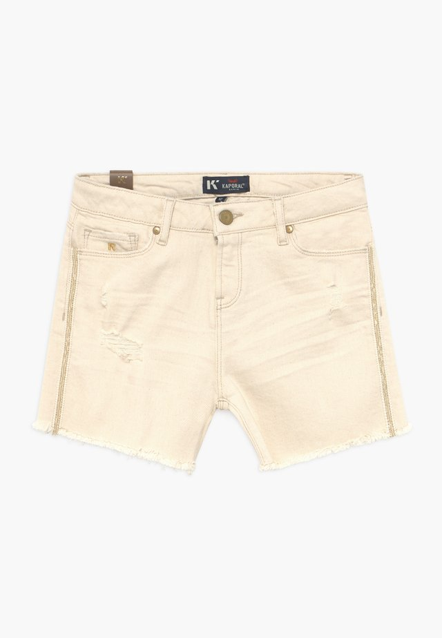 Denim shorts - offwhite