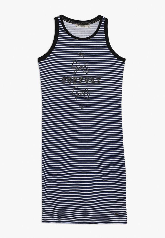 LIKE - Žerzejové šaty - navy