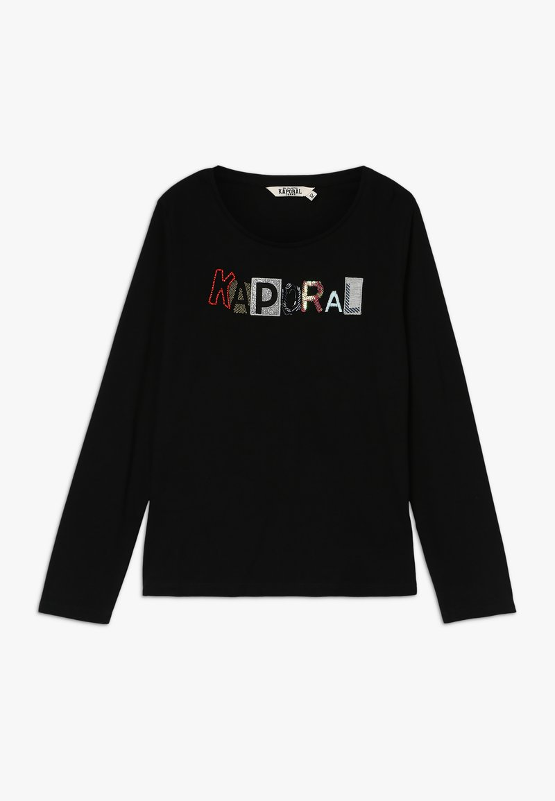 Kaporal - TIVEK - T-shirt à manches longues - black