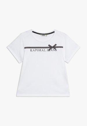 JEFFE - Camiseta estampada - white