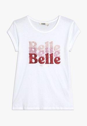 JOANE - T-shirt print - white