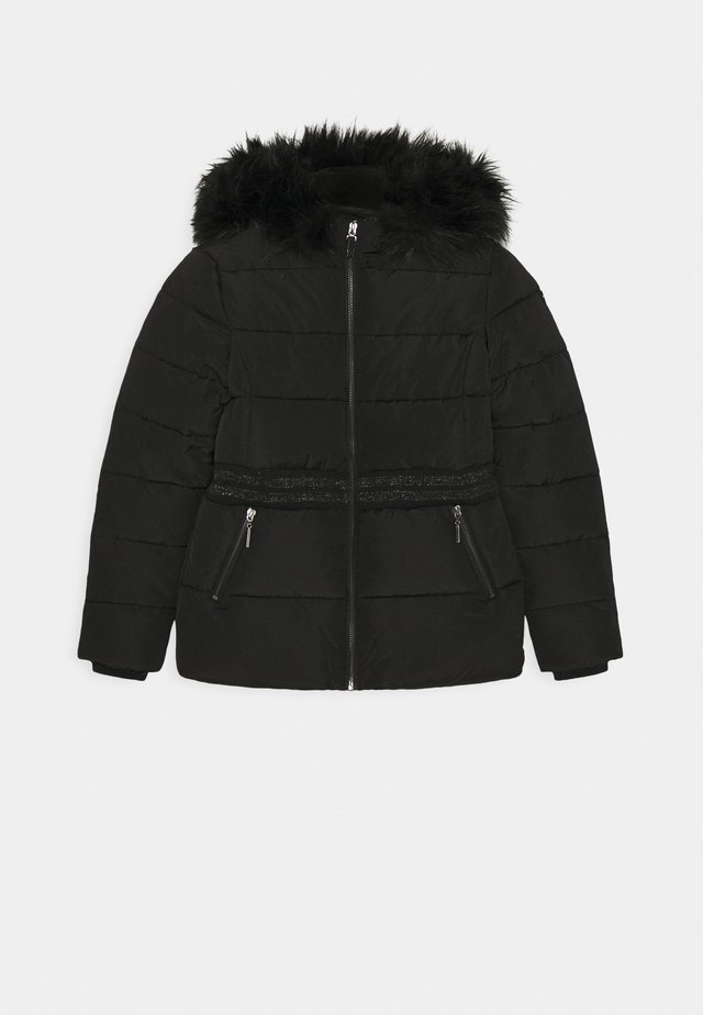 MIDI - Winter coat - black