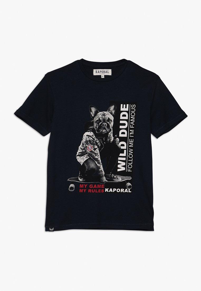 Kaporal - AKEY - T-shirt imprimé - navy