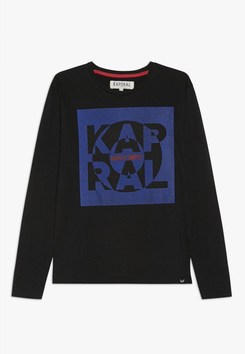 Kaporal - BONES - Pitkähihainen paita - black