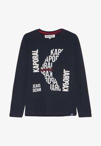 Kaporal - BERLU - T-shirt à manches longues - navy - 2