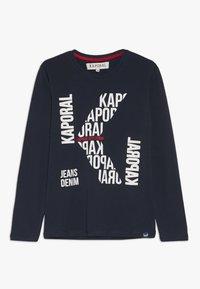 Kaporal - BERLU - T-shirt à manches longues - navy - 0
