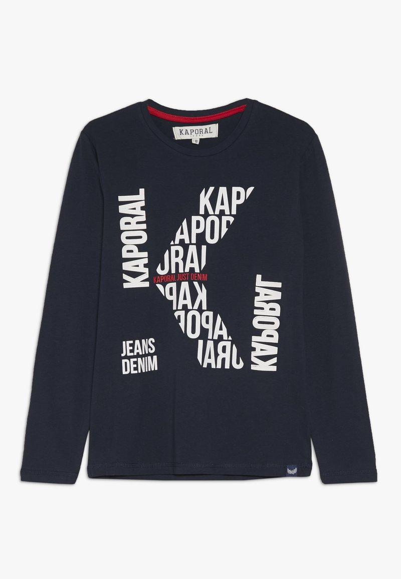 Kaporal - BERLU - T-shirt à manches longues - navy