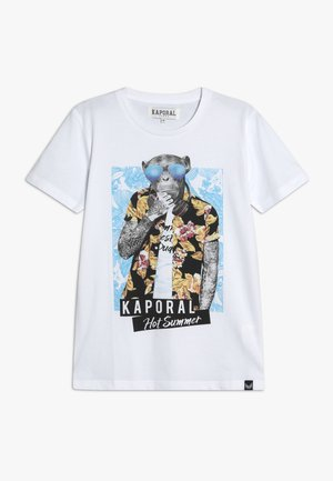 EBALIE - T-shirt imprimé - optic white