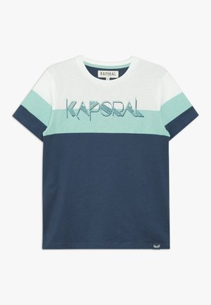 EPILOE - T-shirt imprimé - blue