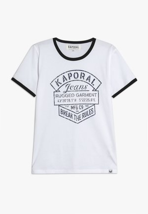 EVOLIE - T-shirt imprimé - optic white
