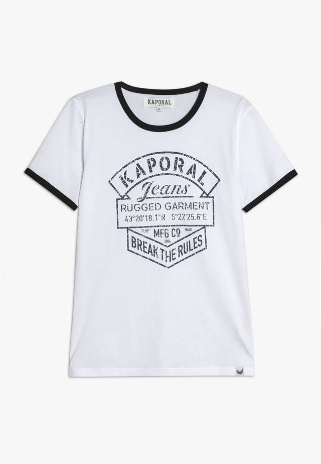 EVOLIE - T-shirt con stampa - optic white