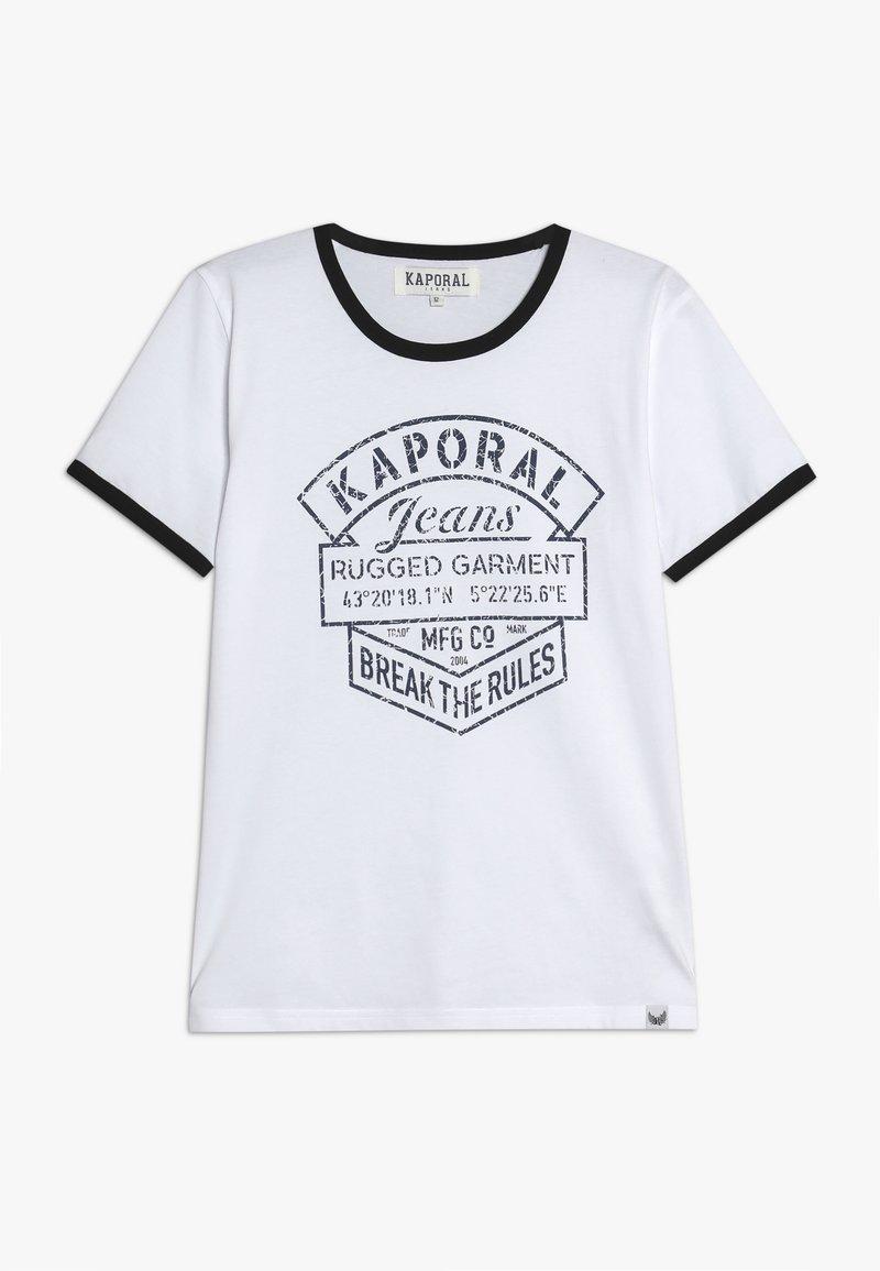 Kaporal - EVOLIE - T-shirt imprimé - optic white