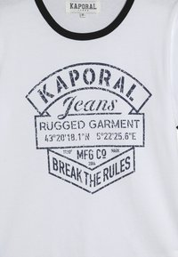 Kaporal - EVOLIE - T-shirt imprimé - optic white - 3