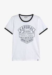 Kaporal - EVOLIE - T-shirt imprimé - optic white - 2
