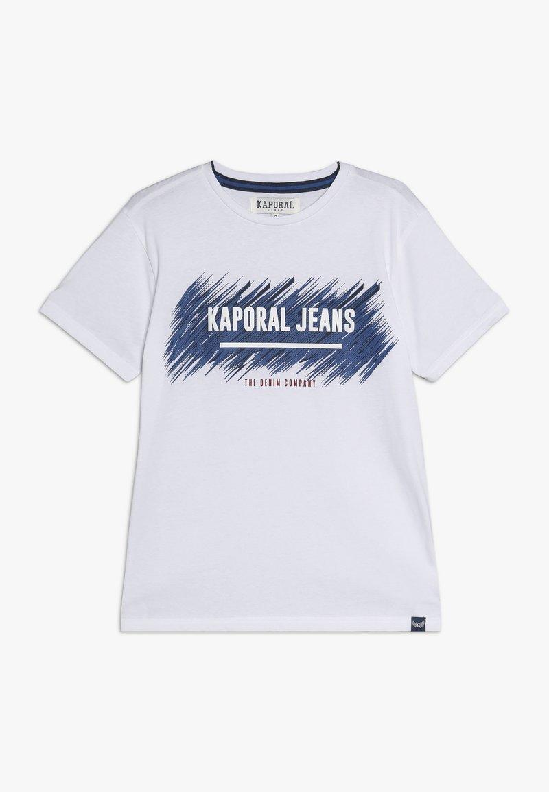 Kaporal - EDMUNE - T-shirt imprimé - white