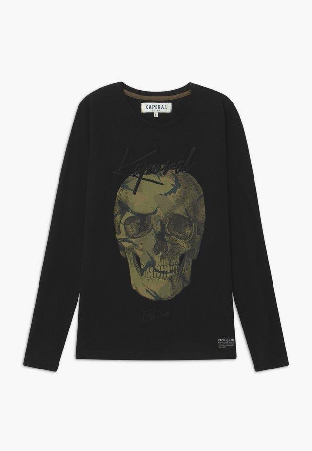 OLUNO - Langærmede T-shirts - black
