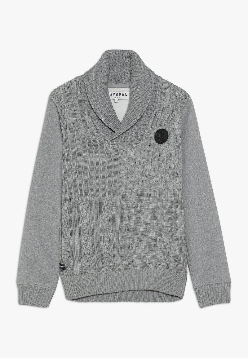 Kaporal - BALEZ - Collegepaita - mottled dark grey