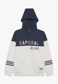 Kaporal - EDVINE - Sweat à capuche - optic white - 0