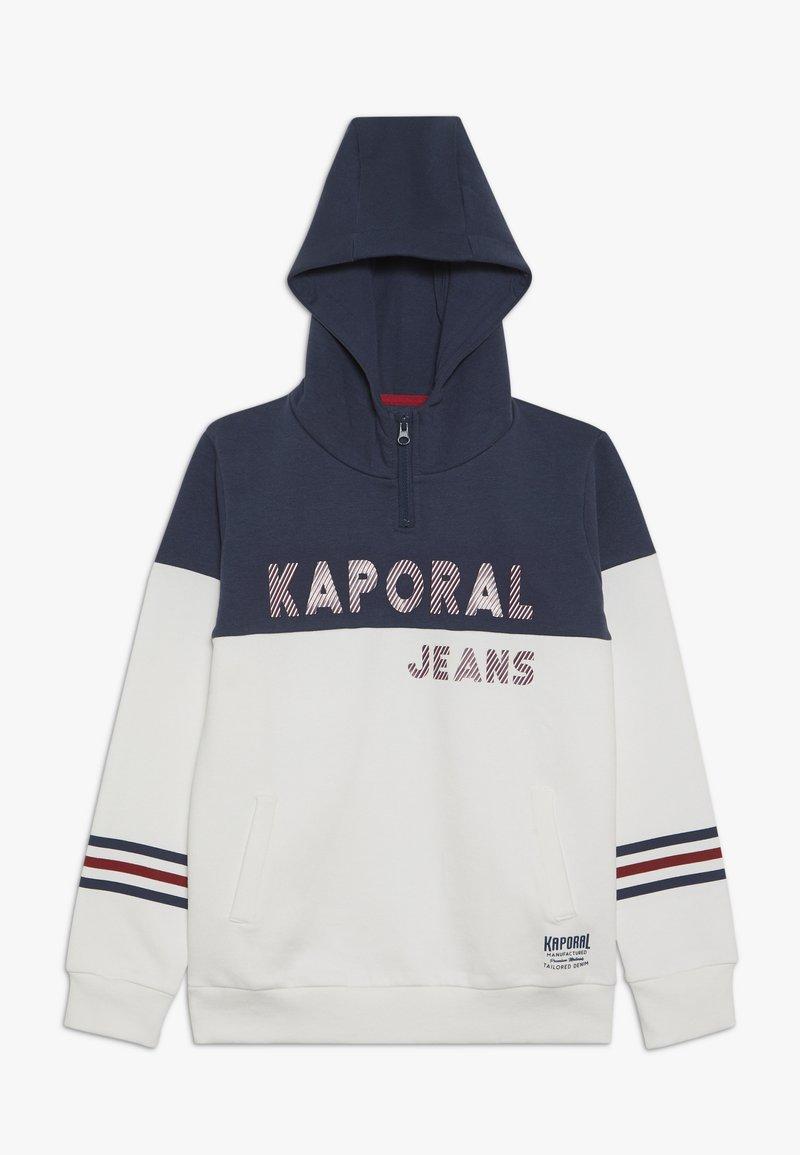 Kaporal - EDVINE - Sweat à capuche - optic white