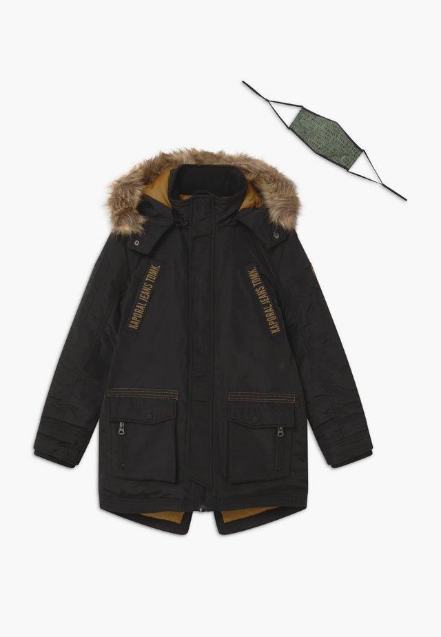 OMERI - Winter coat - black