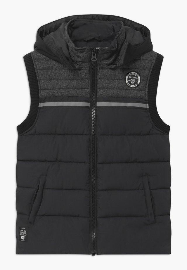 ODINO - Waistcoat - black