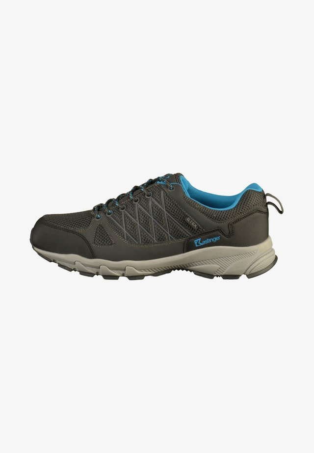 Trainers - charcoal/blue