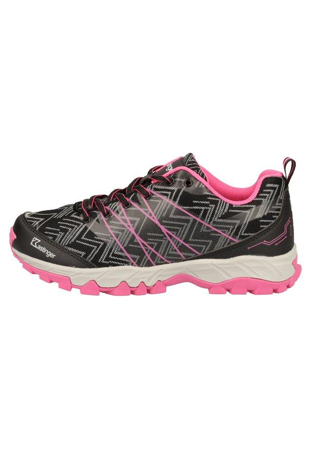KASTINGER WANDERSCHUHE - Sneakersy niskie - black/pink