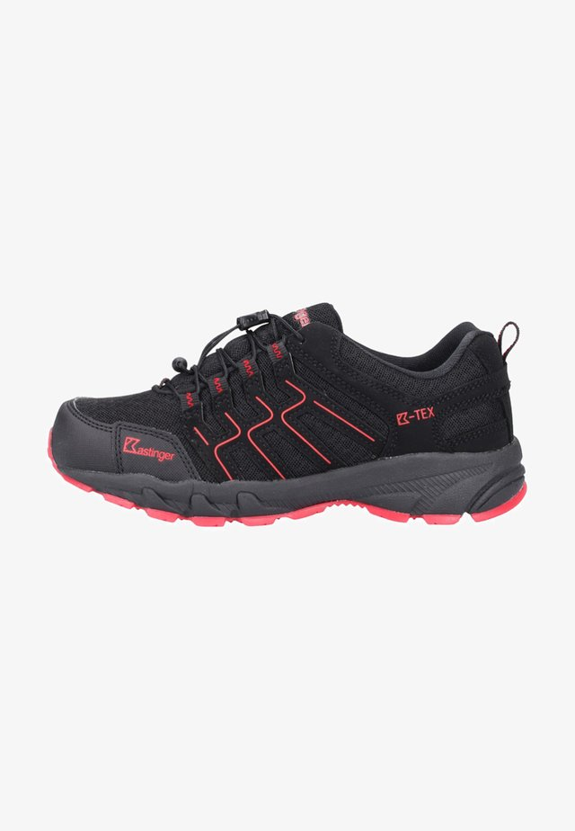 Hiking shoes - black/red