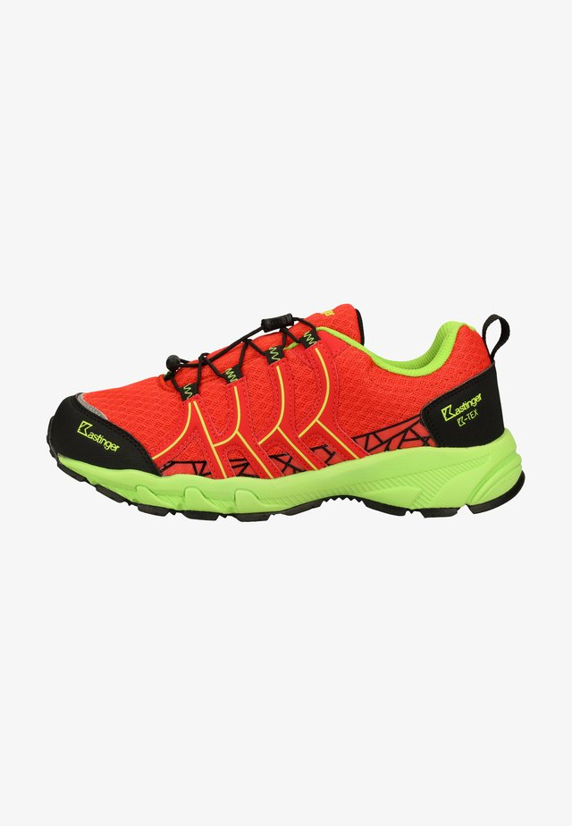 Hiking shoes - dk.orange/black 703