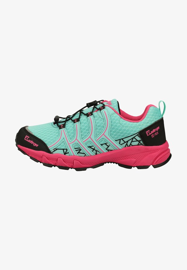 Hiking shoes - mint/pink 824