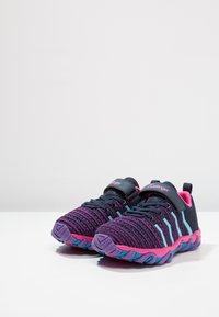Kastinger - COLOUER - Hiking shoes - dark navy/dark pink/light blue - 2
