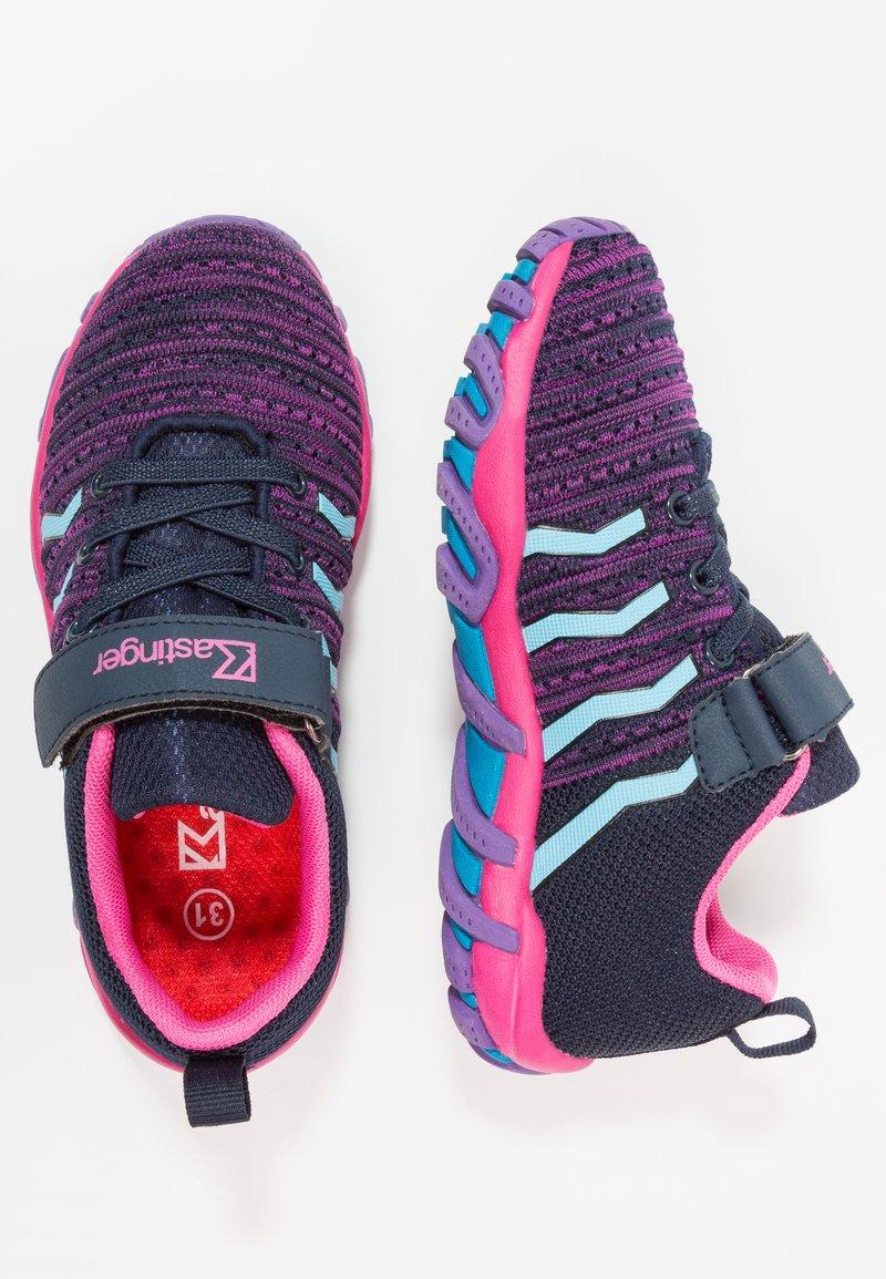 Kastinger - COLOUER - Hiking shoes - dark navy/dark pink/light blue