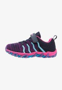 Kastinger - COLOUER - Hiking shoes - dark navy/dark pink/light blue - 1