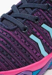 Kastinger - COLOUER - Hiking shoes - dark navy/dark pink/light blue - 5