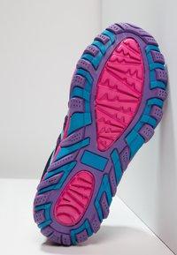 Kastinger - COLOUER - Hiking shoes - dark navy/dark pink/light blue - 4