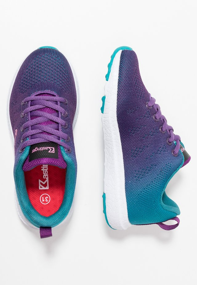 GLANCER - Trainers - grape/turquoise