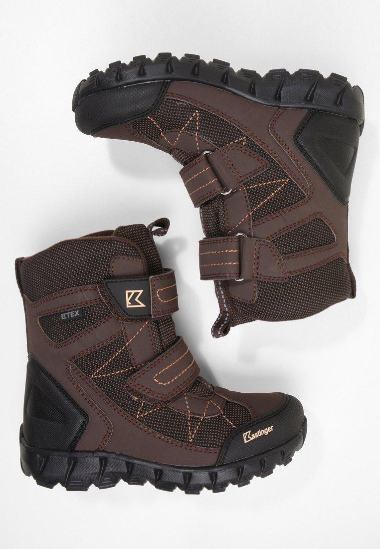Kastinger - SNOW-PEAK - Snowboot/Winterstiefel - darkbrown/black