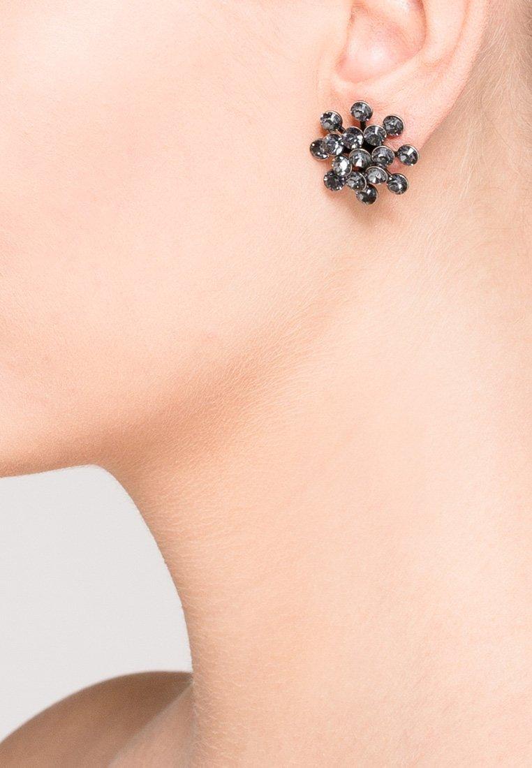 Konplott - MAGIC FIREBALL - Boucles d'oreilles - grau/antiksilberfarben