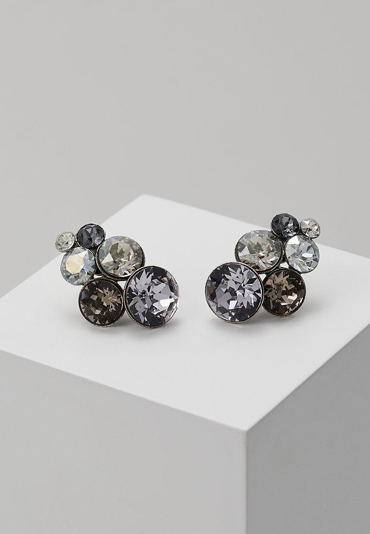 Konplott - PETIT GLAMOUR - Pendientes - grey antique/silver-coloured